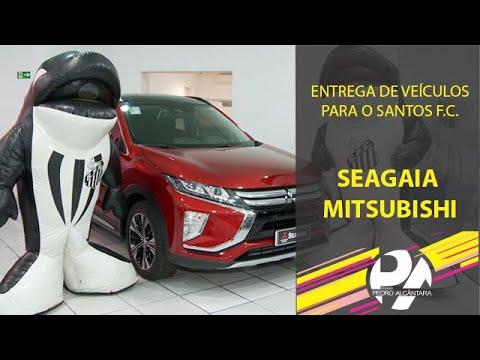 Entrega de Veículos Mitsubishi para o Santos F.C. (Seagaia)