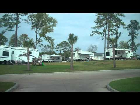 Lakeside RV Resort Lake Livingston Texas Aug 2010