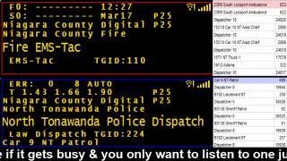 03/17/18 PM Niagara County Police & Fire Scanner Stream Fire Wire