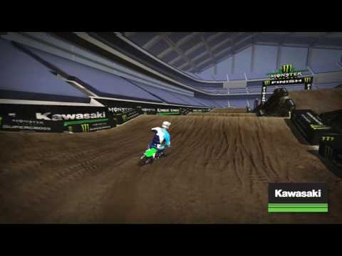 2017 Minneapolis Kawasaki Track Map