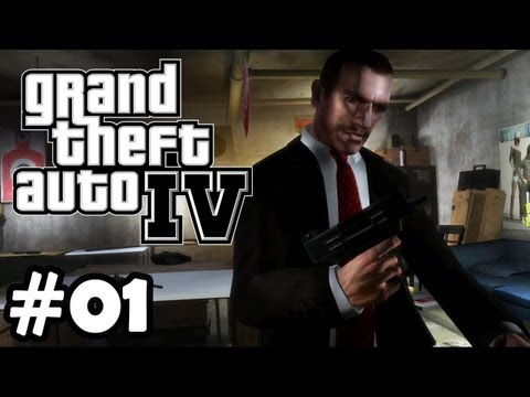 Let's Play GTA 4 (Grand Theft Auto IV) #001 [Deutsch/Full-HD] - Der Amerikanische Traum