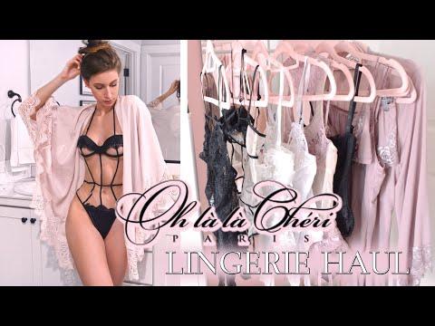 LINGERIE REVIEW/TRY-ON ♥ OH LA LA CHERI thumbnail