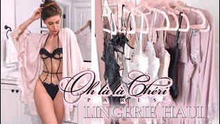 LINGERIE REVIEW/TRY-ON ♥ OH LA LA CHERI