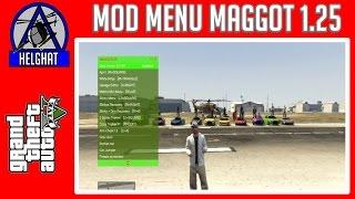 MOD MENU GTA V 1.25/ 1.26 BLES /CEX/DEX UPDATE MAGGOT + TUTORIAL