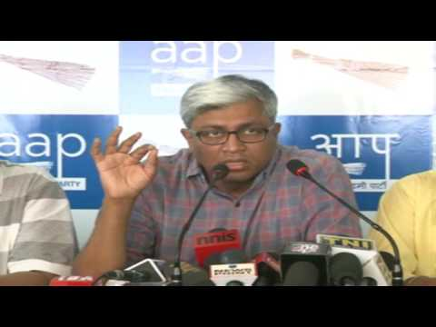 Press Conference by AAP Party