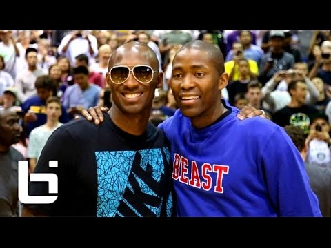 Jamal Crawford Scores 63 In front of Kobe Bryant & Hits Crazy Game Winner!