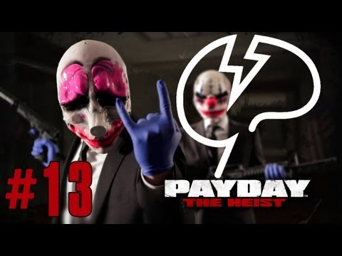Mindcrack FPS: Payday: The Heist - Episode 13 - Whisky Tango Foxtrot