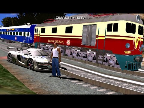 How To Install Indian Trains in GTA SA Android Without PC- Step by Step Tutorial (Hindi)