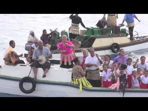 HM Queen Mother Halaevalu Mata'aho Tuku'aho Ha'apai visit 2014
