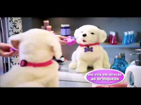 ((RiHappy)) Hasbro - Fur Real Cão Labrador Cookie