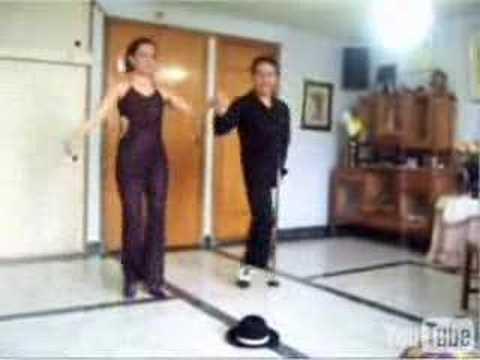 Bailarin sin pierna