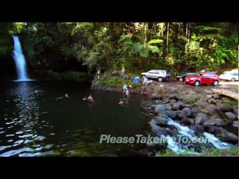 Afu A'au Waterfall, Samoa (1080HD)