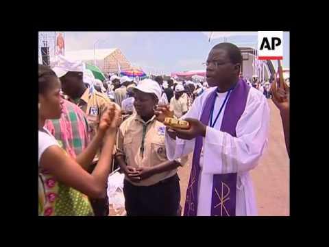 AP pix of Pope in Angola; Mass, Cardinal visits pilgrims injured in crush