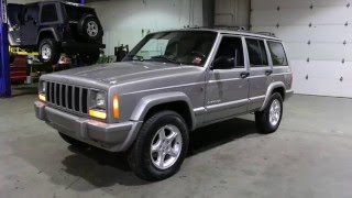 2001 Jeep Cherokee Sport 60th Anniversary Edition For Sale~Low Miles~Super Clean & Never Smoked in!