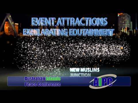IREA's Australian Islamic Peace Conference 2013