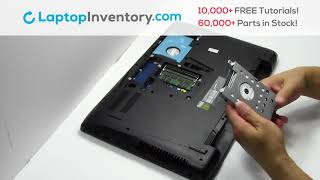 How to replace Laptop Hard Drive Asus GL552V. Fix, Install, Repair HDD GL551 GL771 GL752 G56JR