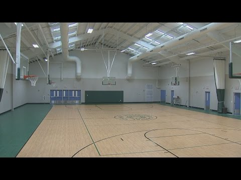 Waterford Country School opens its brand new gymnasium dedicated to Otto Graham - 10/29/2014