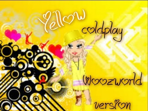 Woozworld Music video- Yellow (coldplay)