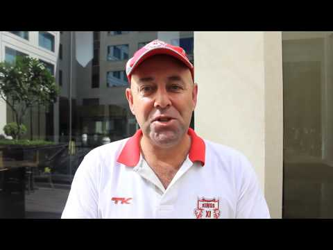 Darren Lehmann talks to the fans
