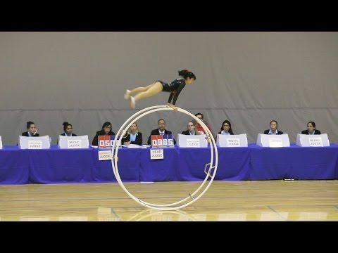 World Championships in Gymwheel 2016 Qualification Miho Tsukioka straight line 25th Place