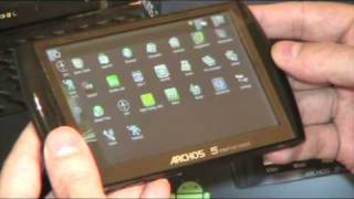 Unboxing Archos 5 Internet Tablet with Android
