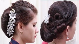 Beautiful Wedding guest Hairstyles for Long Hair || Everyday Hairstyles || Hair style girl