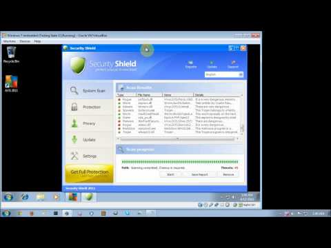 AVG Anti-Virus Free Edition 2011 Anti-Malware Test Part 2