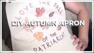 DIY ♥ Autumn Apron