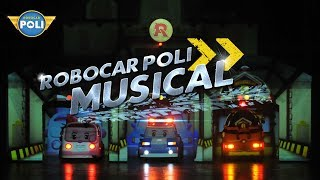robocar poli transforming in  musical