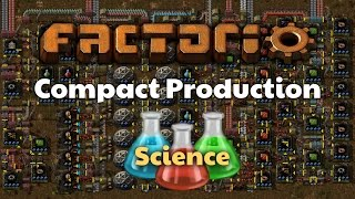 Factorio 0.14.x Compact Science Production