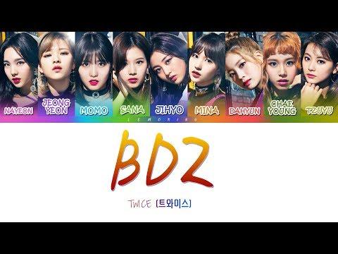 [OFFICIAL] TWICE (트와이스) - BDZ [Color Coded Lyrics/JAPAN/ROM/ENG]