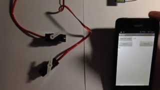 App Inventor 2 tutorial - Accelerometer control two arduino servo //request upload