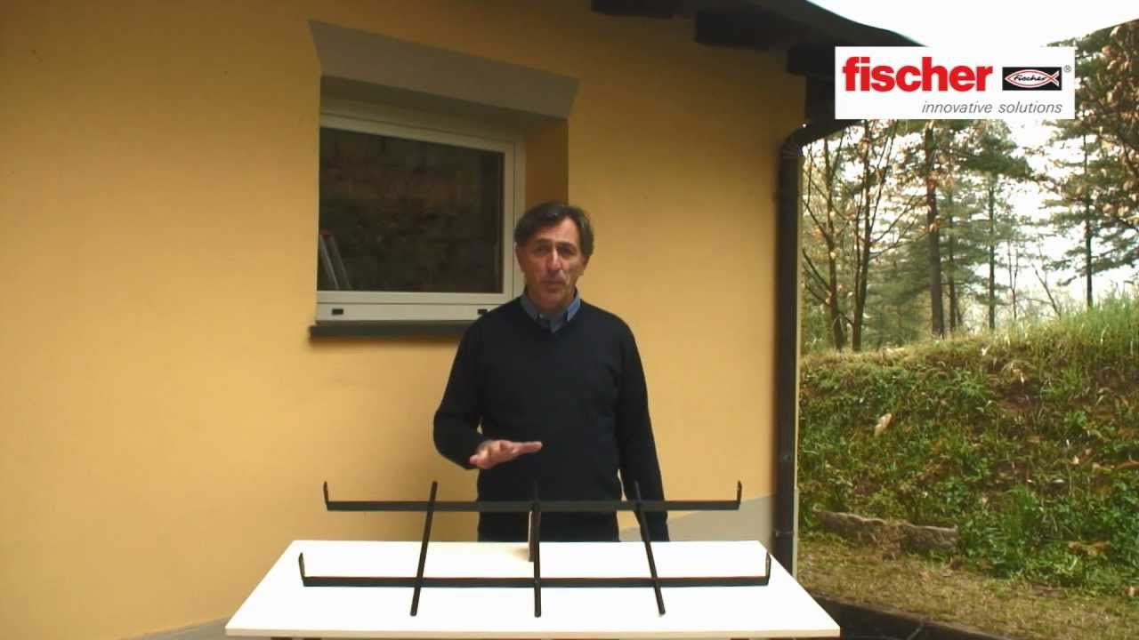 Fischer ready to fix kit di fissaggio per inferriate for Montaggio finestre pvc leroy merlin