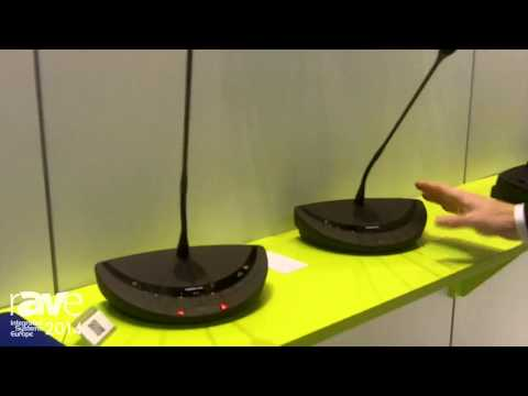 ISE 2014: Televic Conference Shows Confidea Mic With More RF Frequencies and Longer Battery Life
