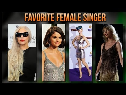 KCA Predictions 2012: Female Singer - Taylor Swift vs. Katy Perry