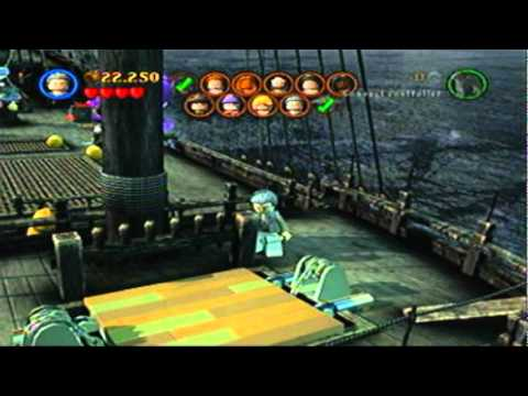 Lego Pirates of the Caribbean Minikit Guide 3-2 Davy Jones' Locker