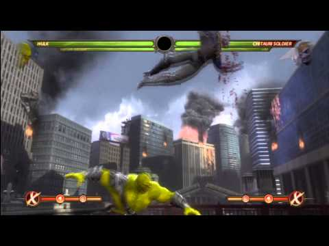 The Mortal Kombat Avengers Combo Video Episode 1 By Tony-t video