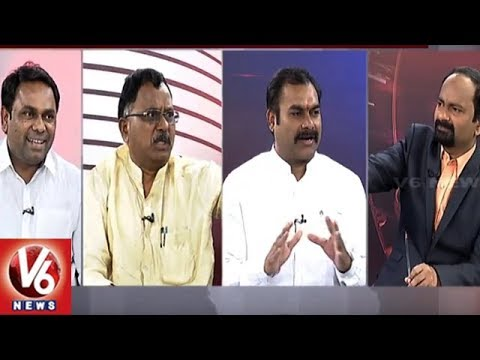 Special Debate On Congress Working Committee Meet | Good Morning Telangana | V6 News