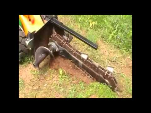Kanga Kid Trench Digger Equipment Hire From City Hire