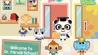 Dr. Panda School Part 1 - iPad app demo for kids - Ellie