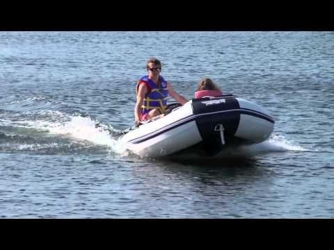 Aps Pro 11 8 39 Inflatable Boat With Aps 9 8hp Outboard