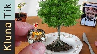 BABY BIRD NEST for LUNCH?  Kluna Tik Dinner #87 | ASMR eating sounds no talk