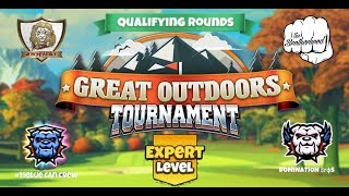 Golf Clash - Great Outdoors - Expert Qualifying Round