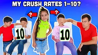 My CRUSH & His Brother RATE MY OUTFITS! | Jancy Family