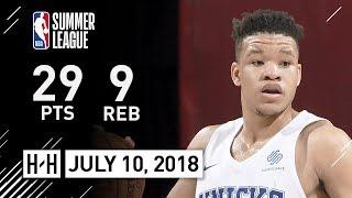 Kevin Knox SICK Full Highlights vs Lakers (2018.07.10) NBA Summer League - 29 Pts, 9 Reb, 2 Ast