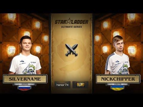 Silvername vs NickChipper, StarLadder Hearthstone Ultimate Series