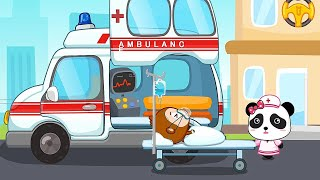 Baby Panda Learns Transportation - Children Learn Common Vehicles | Baby Panda games