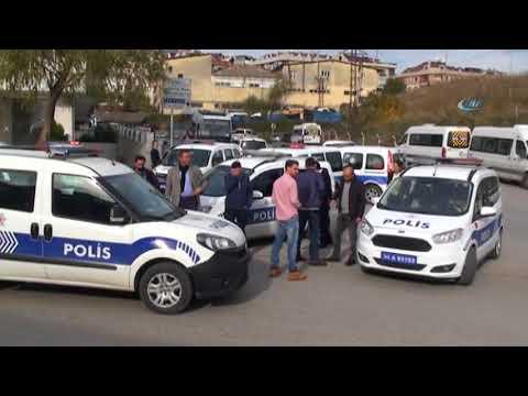 İstanbul'da Polis Aracına Saldırı