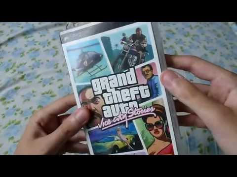 TV SW (PL) - GTA Vice City Stories (2006 - PSP) Unboxing & Gameplay