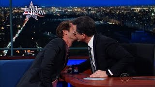 Stephen Colbert Knows That Andrew Garfield Is A Gentle Lover